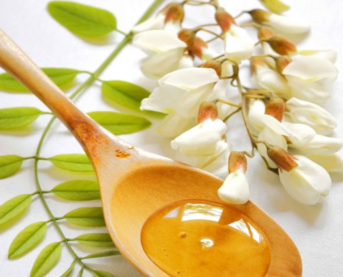Miele di Acacia e fiore