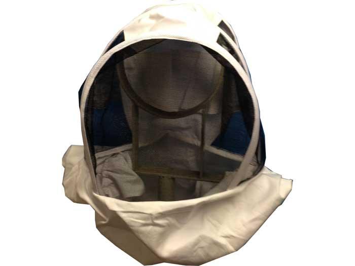 Maschera con rete apicoltore