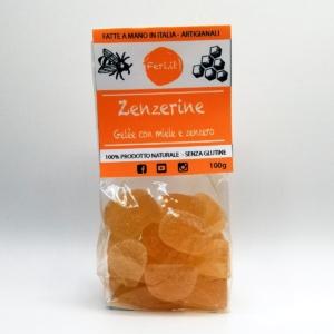 Zenzerine Caramelle al Miele e Zenzero