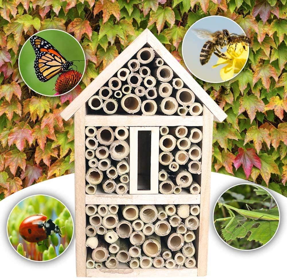 Casa delle api a tubi