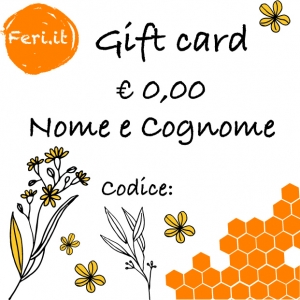 Carta regalo Feri.it